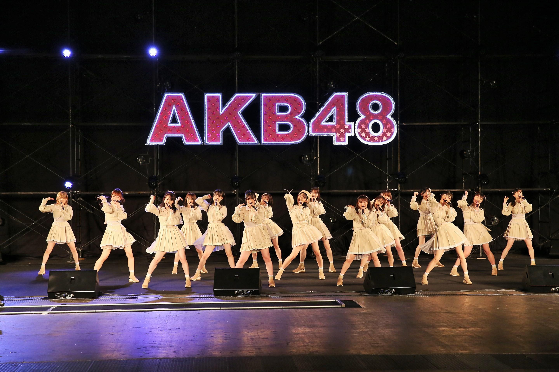 10月18日ライブ (C) AKB48