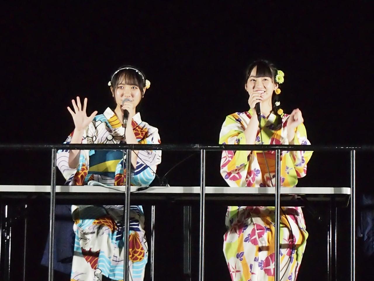 石田千穂と信濃宙花 (C) STU