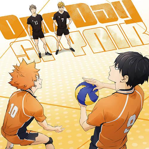 シングル「One Day」【CD】(CD+DVD)(C)古舘春一/集英社・「ハイキュー!!」製作委員会・MBS