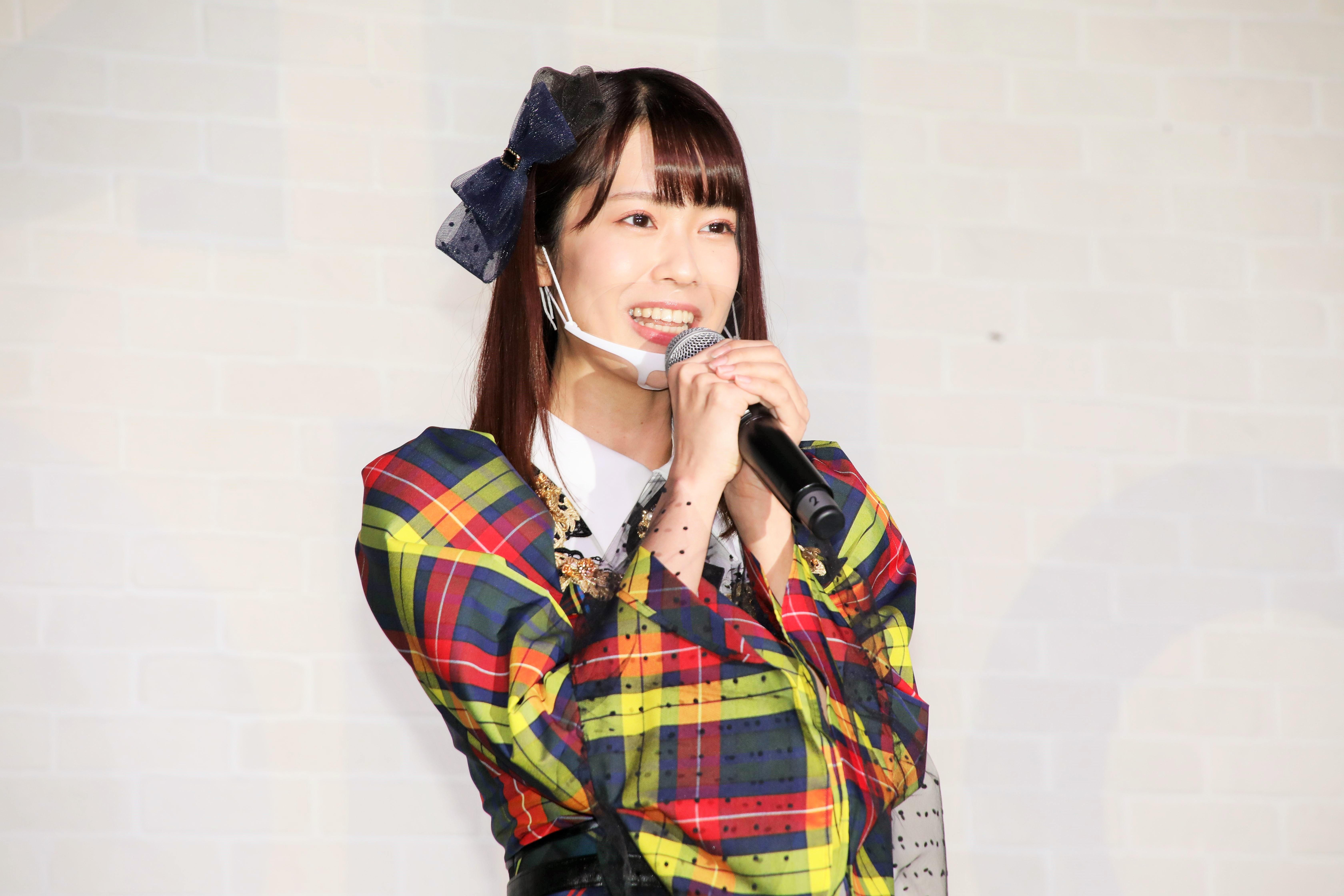 小田えりな「私は今までとは違う世界に行きたい!と思ってAKB48のオーディションに挑戦しました」
