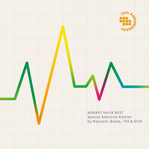配信アルバム『MONKEY MAJIK BEST - Special Selection Edition by Maynard, Blaise, TAX & DICK –』