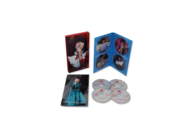 DVDボックス『NAOKO ETERNAL SONGS』展開写真
