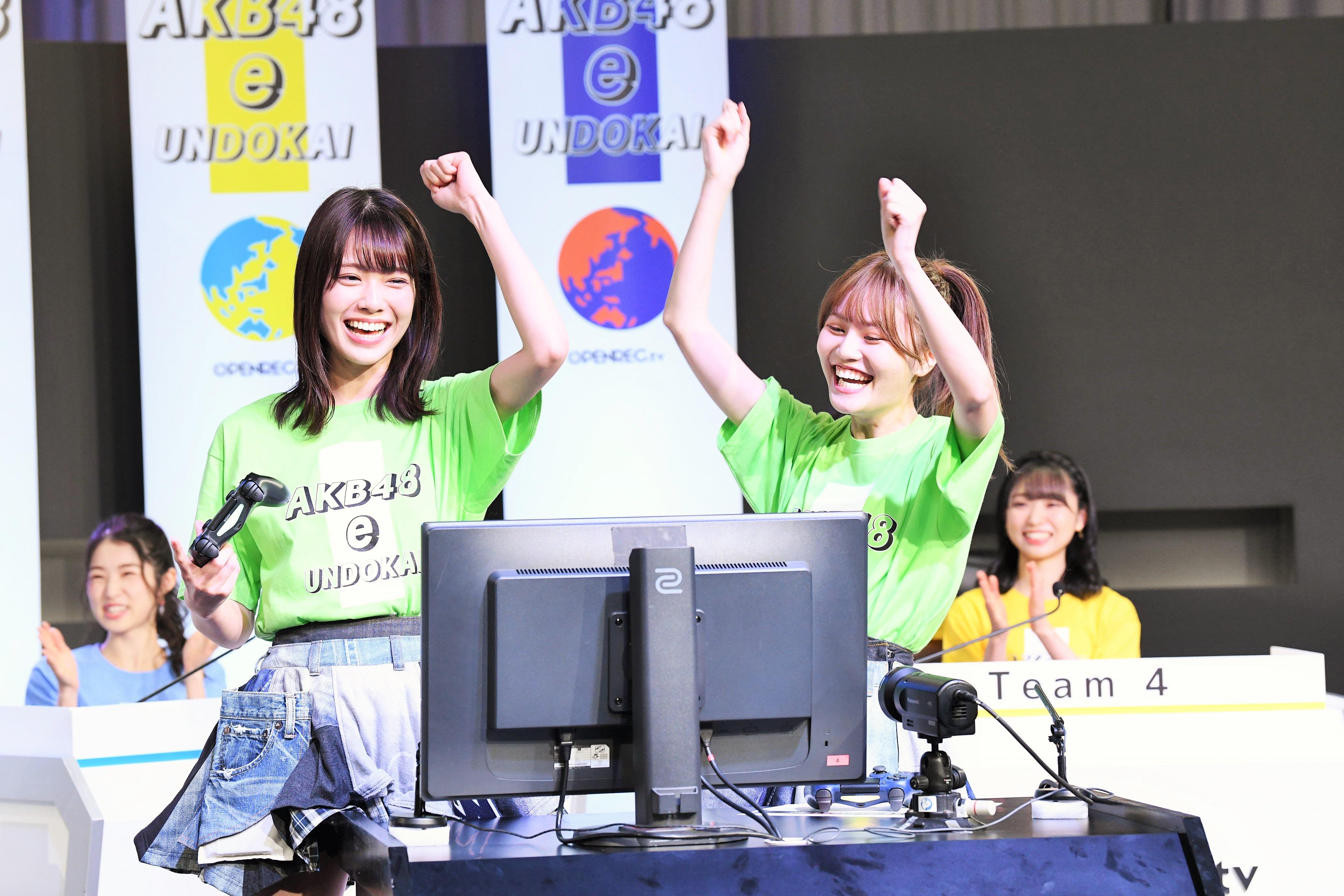 チームK 小田えりなと込山榛香  (C) AKB48