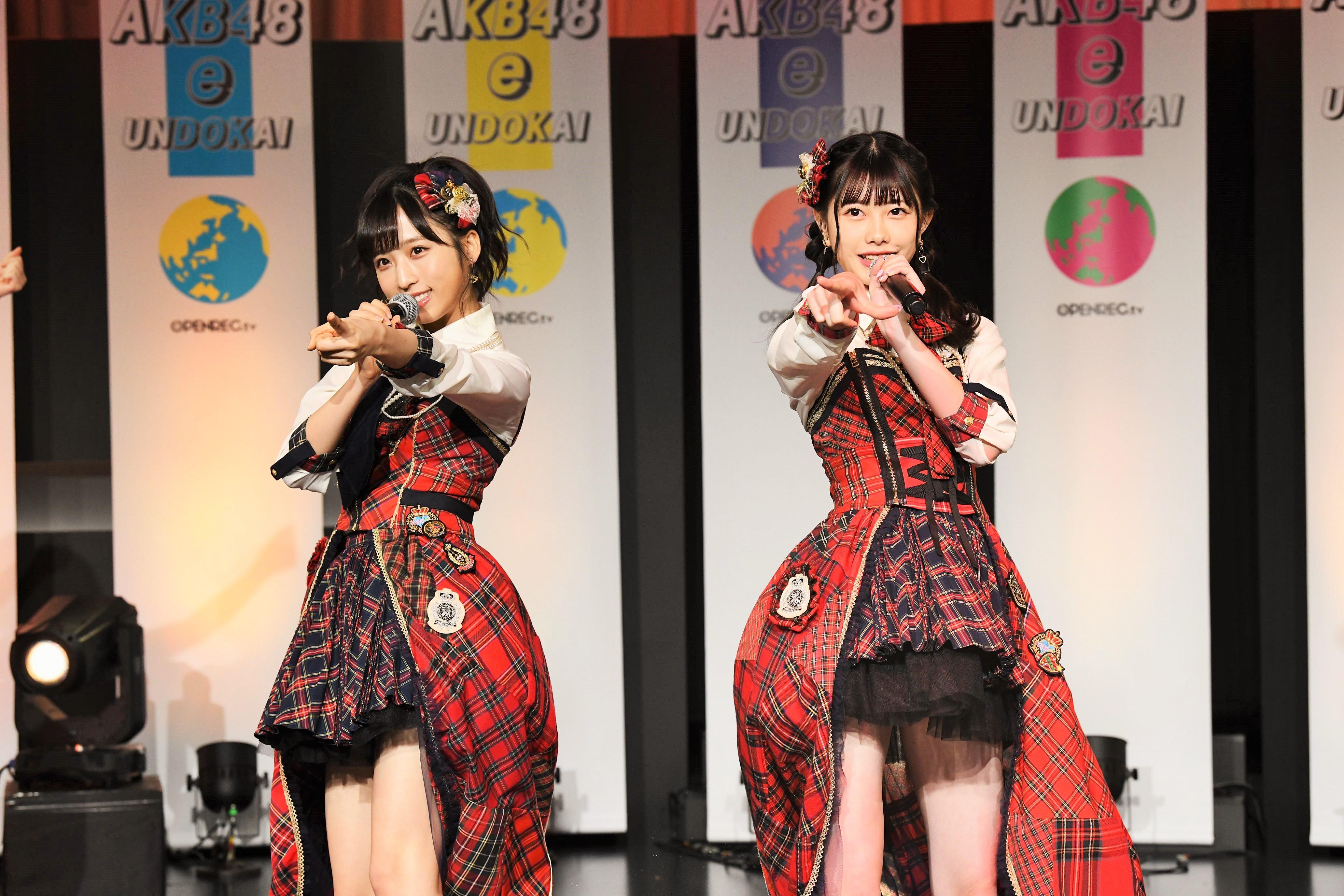 チームA小栗有以と千葉恵理  (C) AKB48