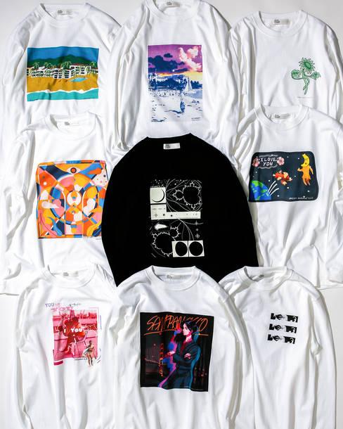 加山雄三 × <TOKYO CULTUART by BEAMS>ロングスリーブTシャツ