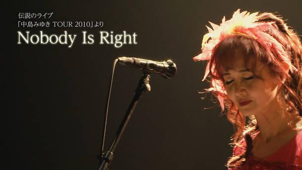アルバム『ここにいるよ』 初回盤特典DVD「Nobody Is Right」 ダイジェストトレーラー動画