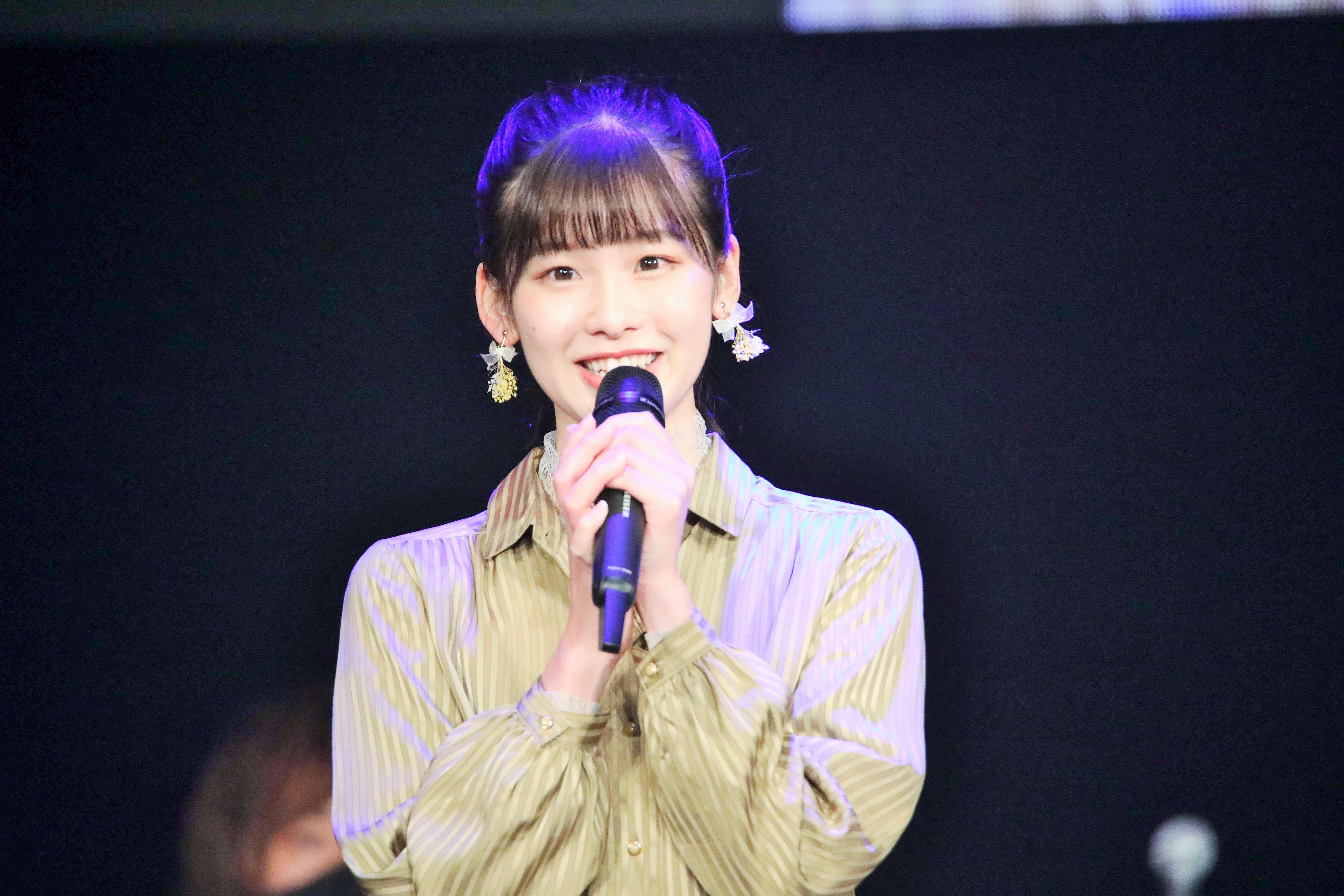 AKB48歌唱力No1決定戦での浅井七海「この歌詞が私のほぼ実体験に近かったので、想いを込めて誰かのところに届けられたらいいなと思いました」
