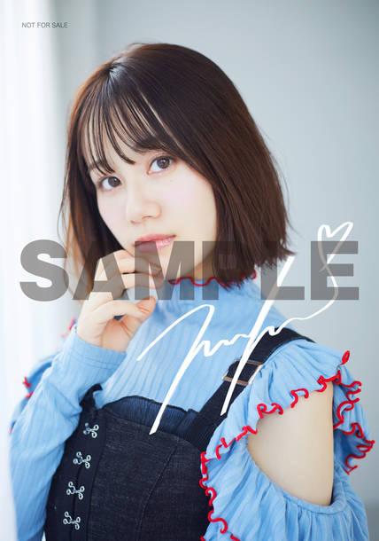 TSUTAYA RECORDS各店(オンラインは予約分のみ):オリジナル絵柄L版ブロマイド(複製サイン入り)