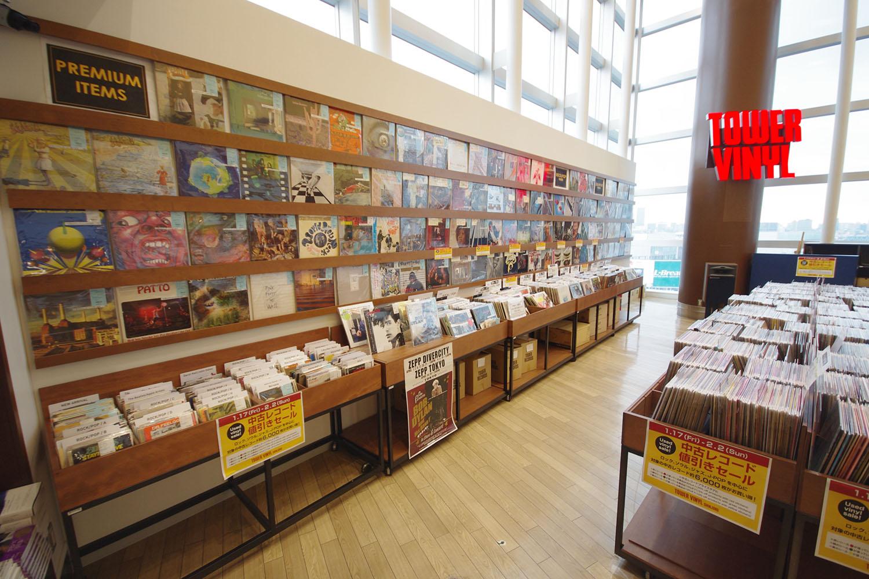 タワーレコード 新宿店 10階 「TOWER VINYL SHINJUKU / タワーヴァイナルシンジュク」