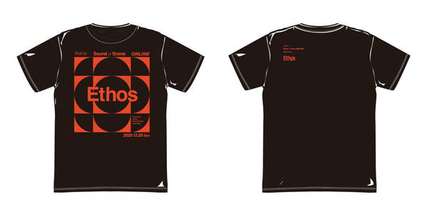 『Ethos』T-shirts (Black)
