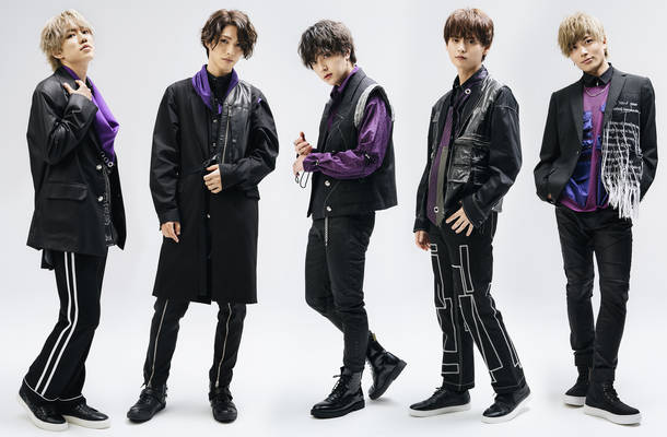 L→R TAIYU、TOSHIKI、HIROTO、YU-TA、KENTO.i