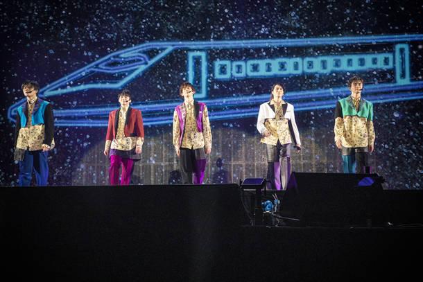 12月26日@オンラインスペシャルライブ『Superstar』 photo by 米山三郎、深野輝美