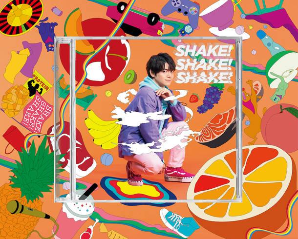 シングル「SHAKE!SHAKE!SHAKE!」【完全生産限定盤】(MAXI+DVD)特製BOX