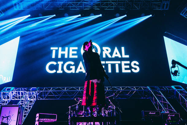 THE ORAL CIGARETTES Photo by ハタサトシ