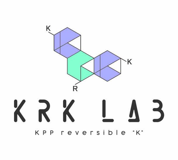 """レーベル""""KRK LAB""""ロゴ"""