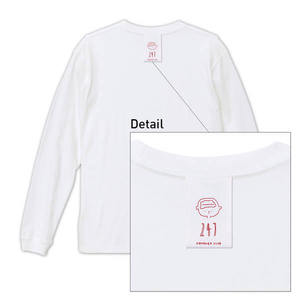アルバム『odds and ends』初回限定ロングTシャツ