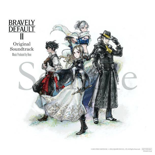 『BRAVELY DEFAULT II Original Soundtrack』メガジャケ