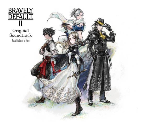 アルバム『BRAVELY DEFAULT II Original Soundtrack』【通常盤】(CD 3枚組)