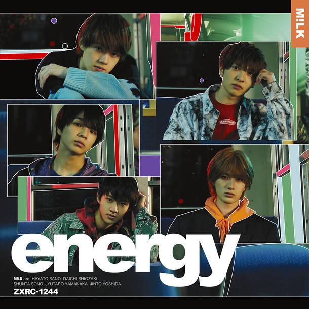 シングル「energy」【FC限定盤】(CD+DVD+サイン入り限定生写真)