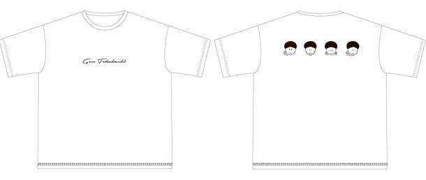 アルバム『あるばむ おさるのうた』【UNIVERSAL MUSIC STORE限定商品】Tシャツ