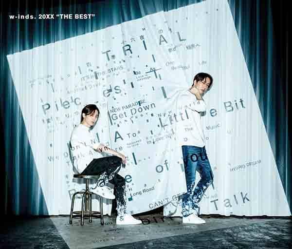 """アルバム『w-inds. Best Album「20XX """"THE BEST""""」』【通常盤】(3CD)"""