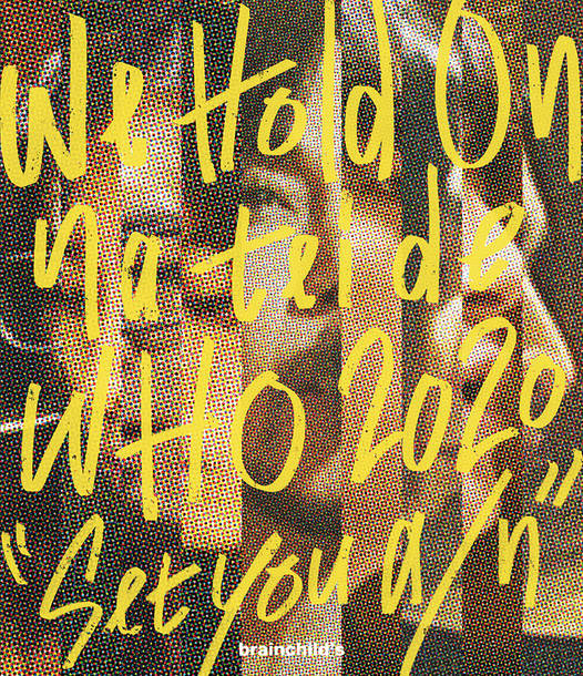"Blu-ray『We Hold On na tei de WHO 2020 ""Set you a/n""』初回仕様"