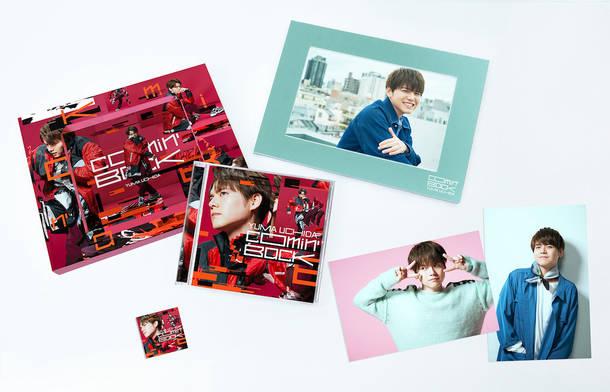 シングル「Comin' Back」【完全生産限定盤】(CD+DVD)展開図