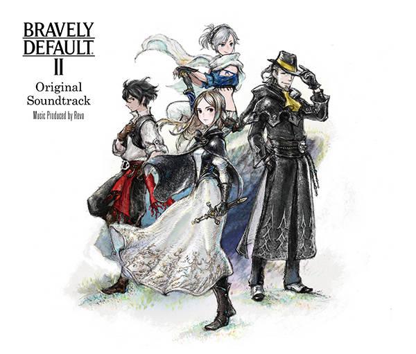 アルバム『BRAVELY DEFAULT II Original Soundtrack』【通常盤】(3CD)