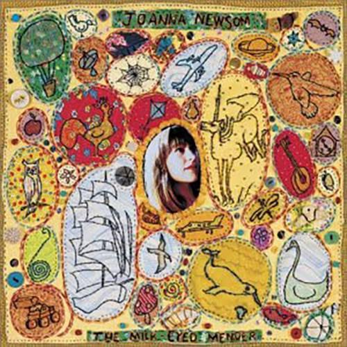 「Peach, Plum, Pear」収録アルバム『The Milk-Eyed Mender』/Joanna Newsom