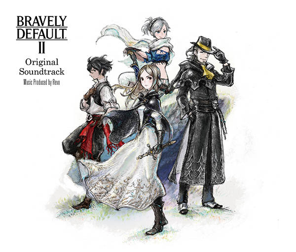 アルバム『BRAVELY DEFAULT II Original Soundtrack』【通常盤】(3CD)