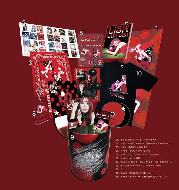 ミニアルバム『LADYBUG』【完全数量生産限定盤】(CD+Blu-ray+特典グッズ)※商品見本