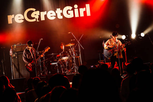【reGretGirl ライヴレポート】