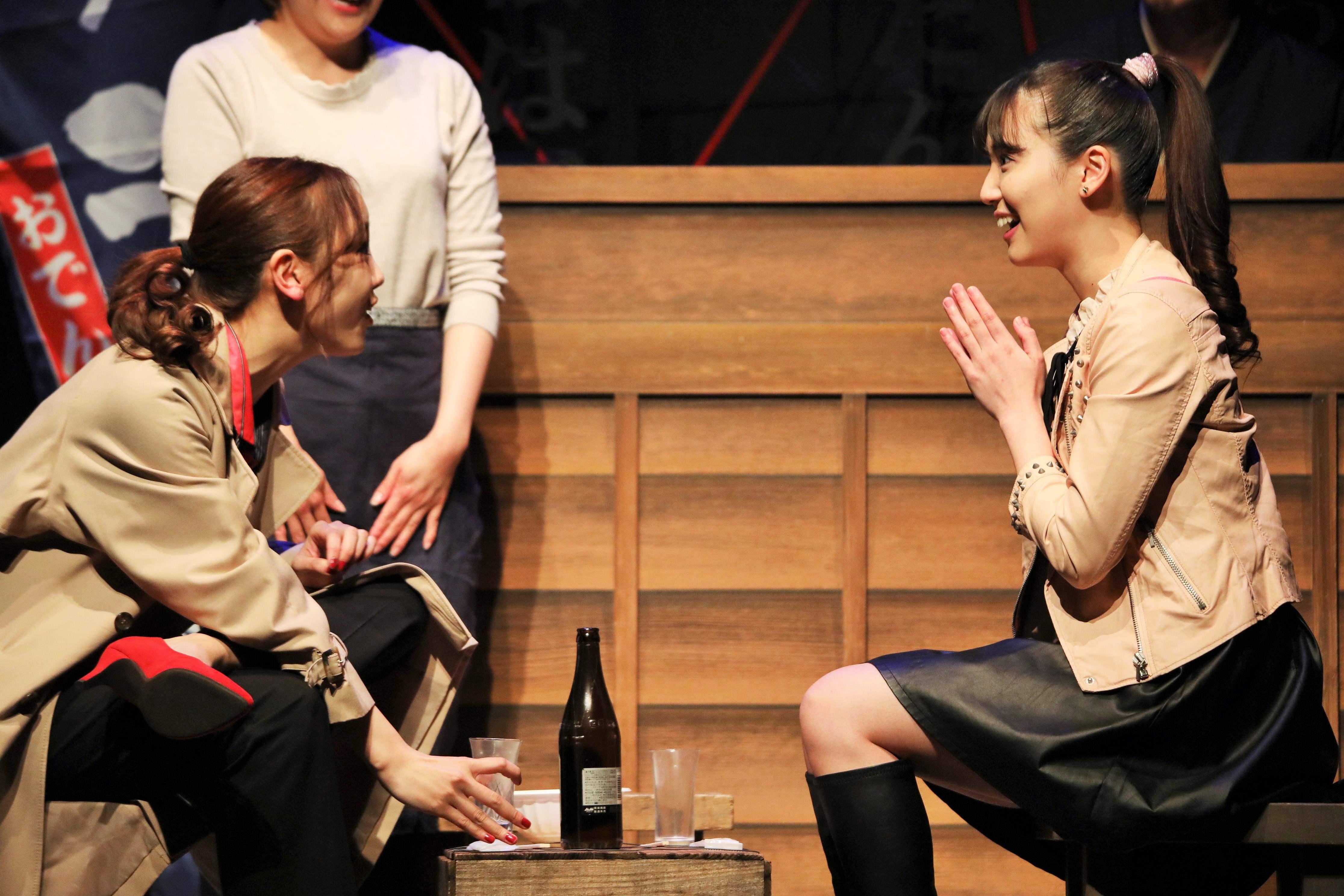 内野沙耶役を演じる下尾みう(右)画像の無断転載・アップロードは一切禁止。