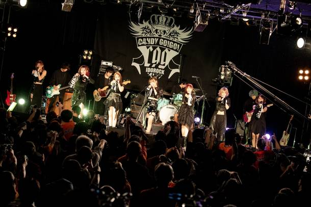 【CANDY GO!GO! ライヴレポート】