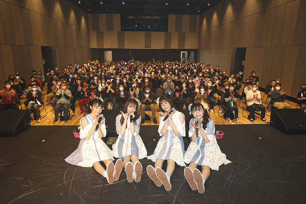 4月18日(日)@KANDA SQUARE HALL(『BOLTSPRING 2021』【1部】) photo by  笹森健一