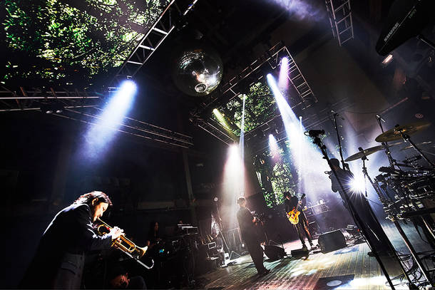 『LIVE STREAMING FROM TOKYO EPISODE Ⅱ ~VOICE OF LEMURIA~』(Photo by Keiko Tanabe)