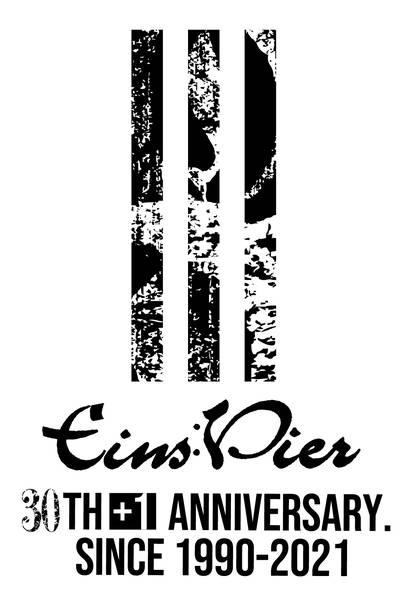 Eins:Vier  30th+1 Anniversary ロゴ