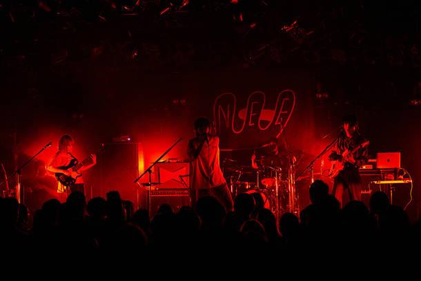 『鬼ぎりTOUR』<青鬼篇>4月24日(土) 渋谷CLUB QUATTRO(photo by nakaiso yoshio)