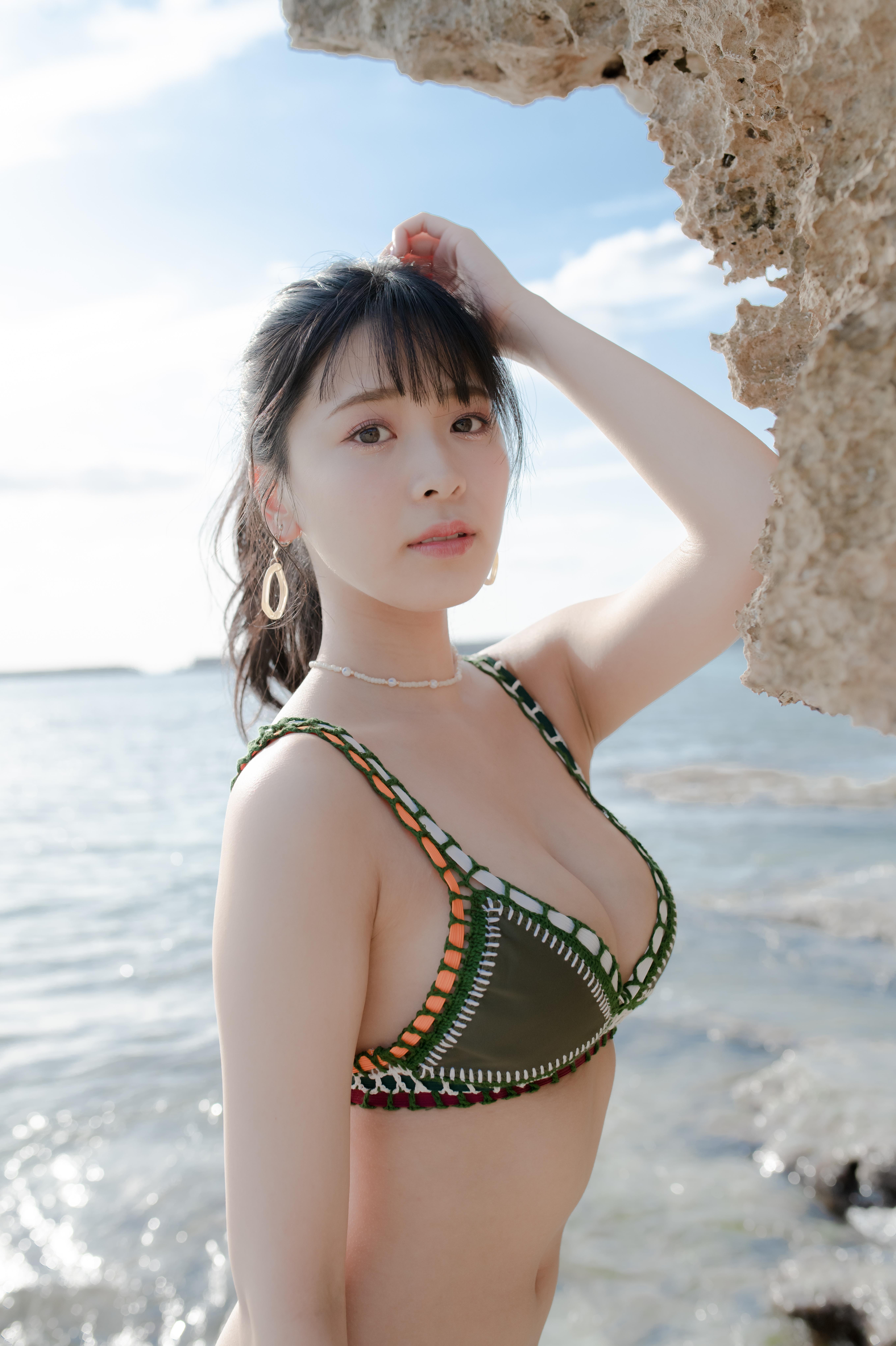 NMB48安田桃寧:無断アップロードおよび転送は一切禁止