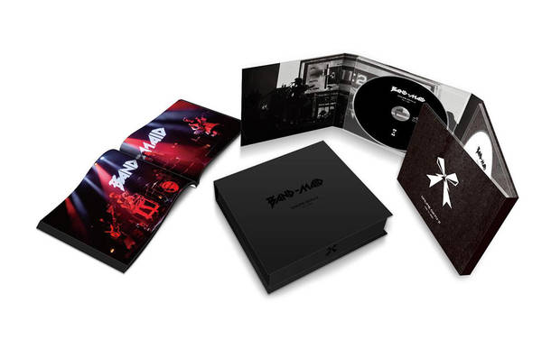Blu-ray&DVD『BAND-MAID ONLINE OKYU-JI (Feb. 11, 2021)』【完全生産限定盤】展開図