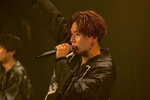 5月15日@TOKYO club asia:HIROSHI (Vocal) Photo by  谷 峰登