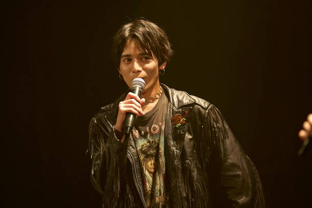 5月15日@TOKYO club asia:SHOJI (Vocal) Photo by  谷 峰登