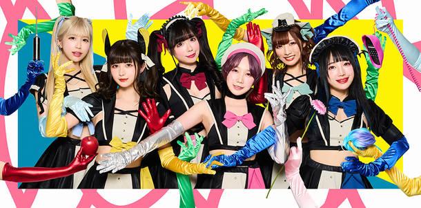 L→R ななせぐみ、甘夏ゆず、恋汐りんご、鈴姫みさこ、望月みゆ、大桃子サンライズ