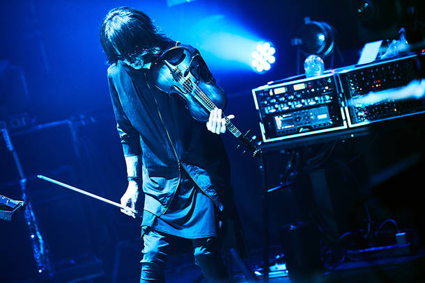 『LIVE STREAMING FROM TOKYO EPISODE Ⅲ ~THE SHAG STRIKES BACK~』2021年5月20日(木)@配信ライヴ(SUGIZO)(Photo by Keiko TANABE)