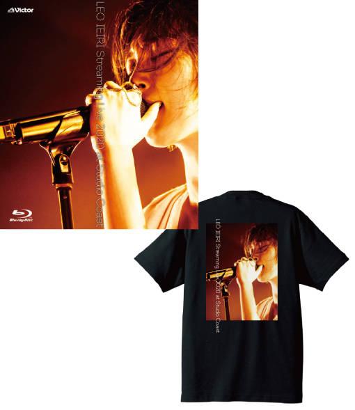 Blu-ray『LEO IEIRI Streaming Live 2020 at Studio Coast』【Blu-ray+Tシャツ】