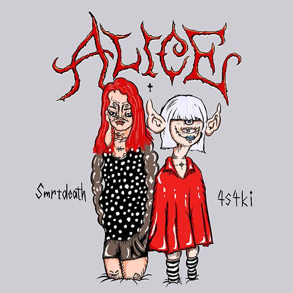 配信シングル「ALICE feat. Smrtdeath」