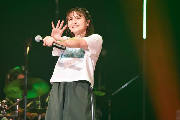 『中島愛 BIRTHDAY EVE SPECIAL LIVE ~GREEN DIARY~』2021年6月4日(金)@Zepp DiverCity(Photo by KOBA(Sketch))