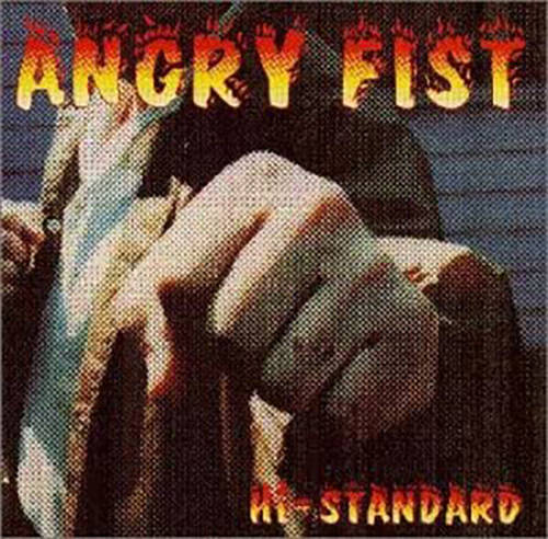 「FIGHTING FISTS,ANGRY SOUL」収録アルバム『ANGLY FIST』/Hi-STANDARD