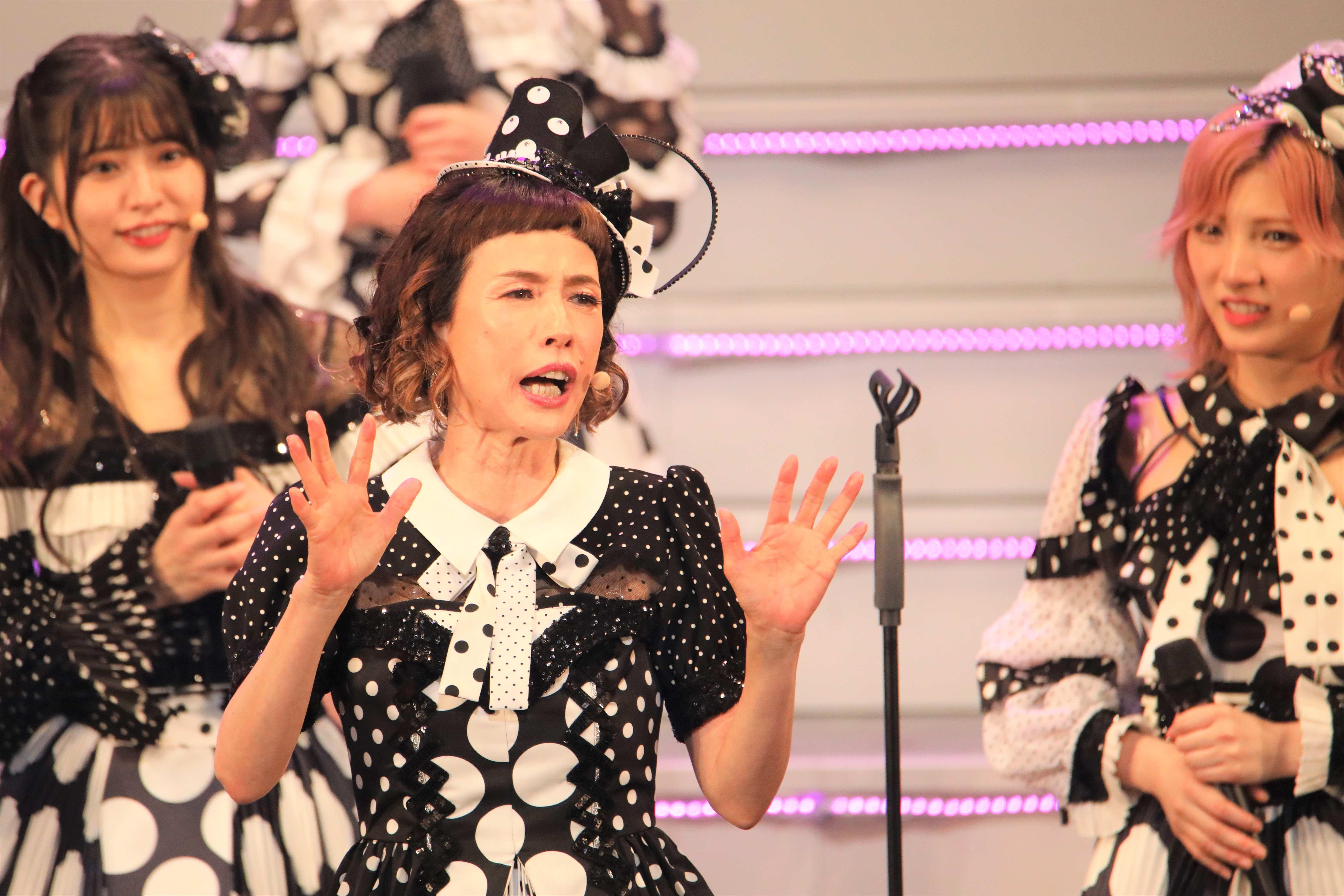 「今日、皆さんの前で踊れることが嬉しくて、嬉しくて、これで十分!」©AKB48 THE AUDISHOW製作委員会  無断アップロード及び転送は一切禁止です。