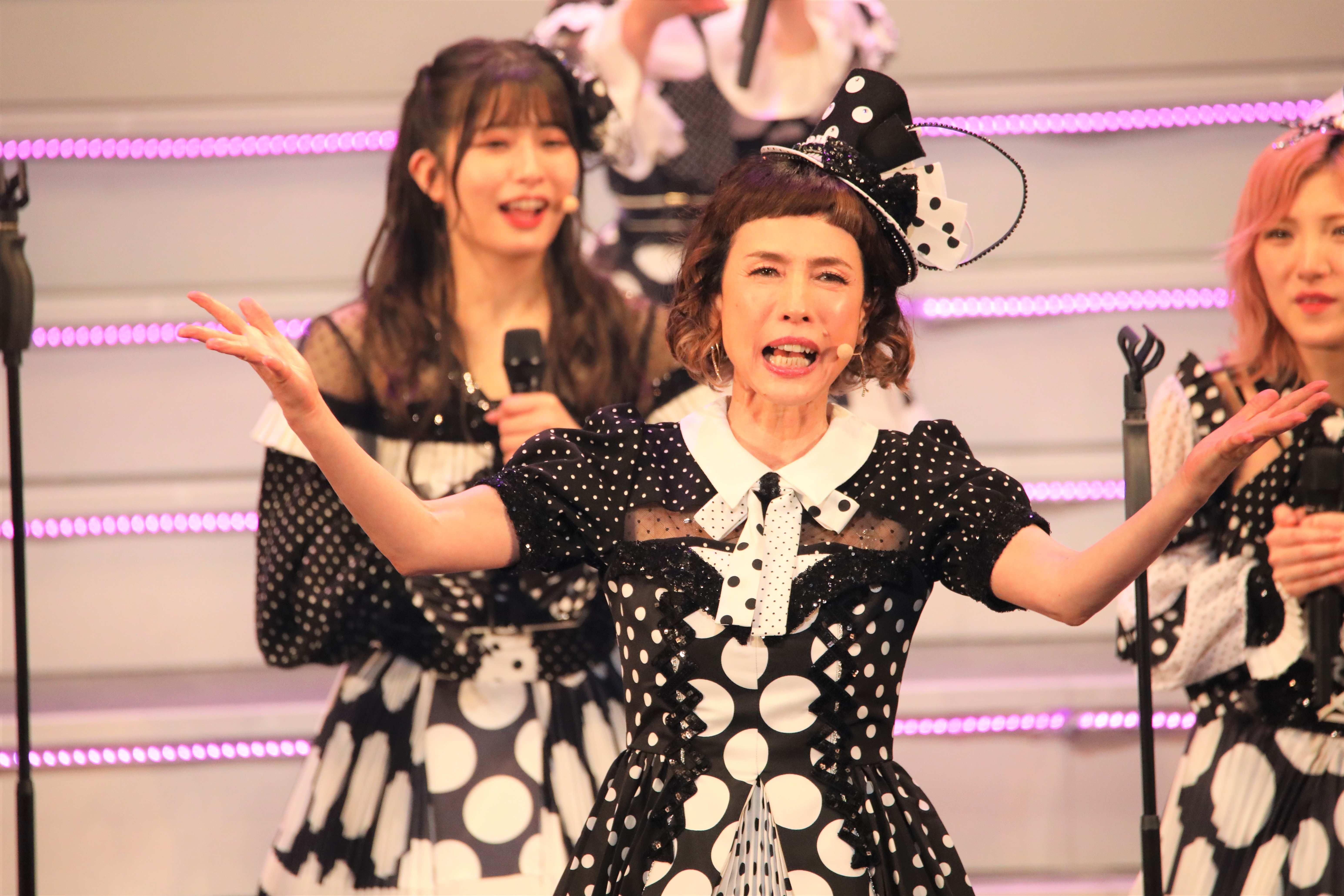「これ以上、踊ったら、まじで死にます。永眠しちゃいます(笑)」©AKB48 THE AUDISHOW製作委員会  無断アップロード及び転送は一切禁止です。